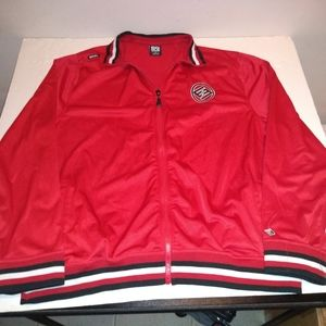 Enyce Clothing Co. Red Track Jacket 3XL